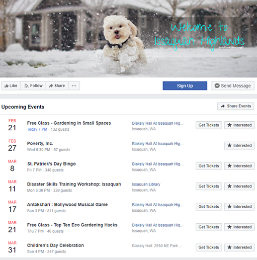 PerfectMind How To Create Facebook Events