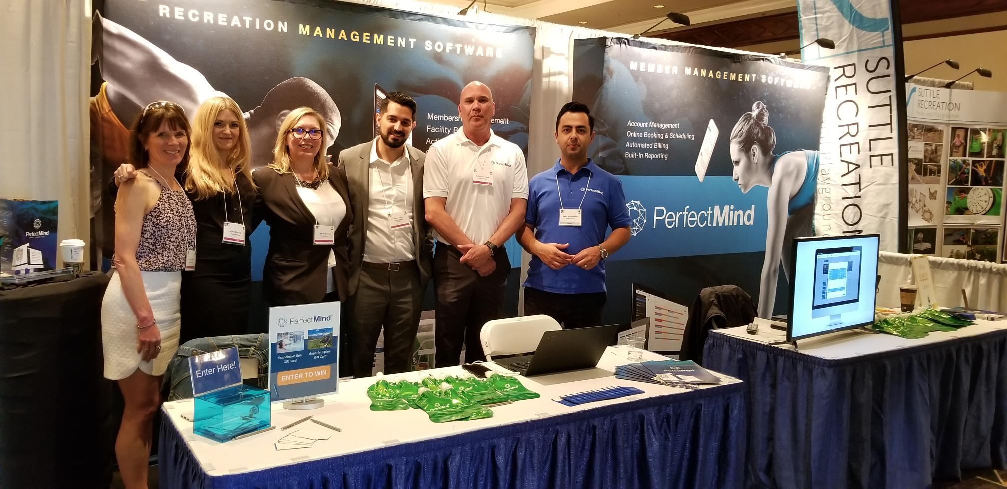 2019 BCRPA - Team at the Booth 4