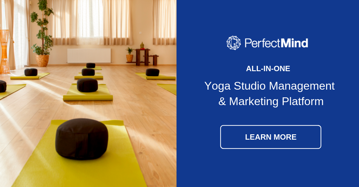 Yoga studio management software - Learn More