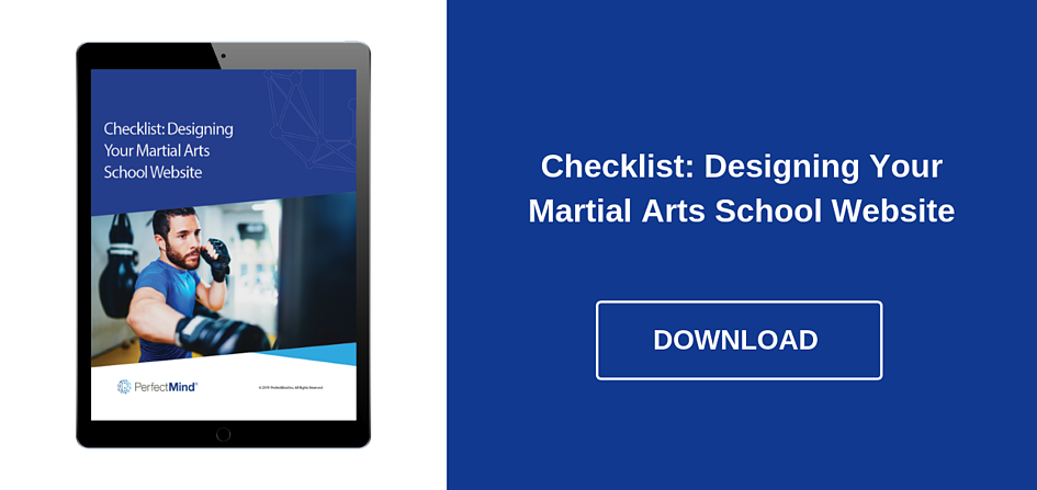 Designing your martial arts school website - Download Ebook