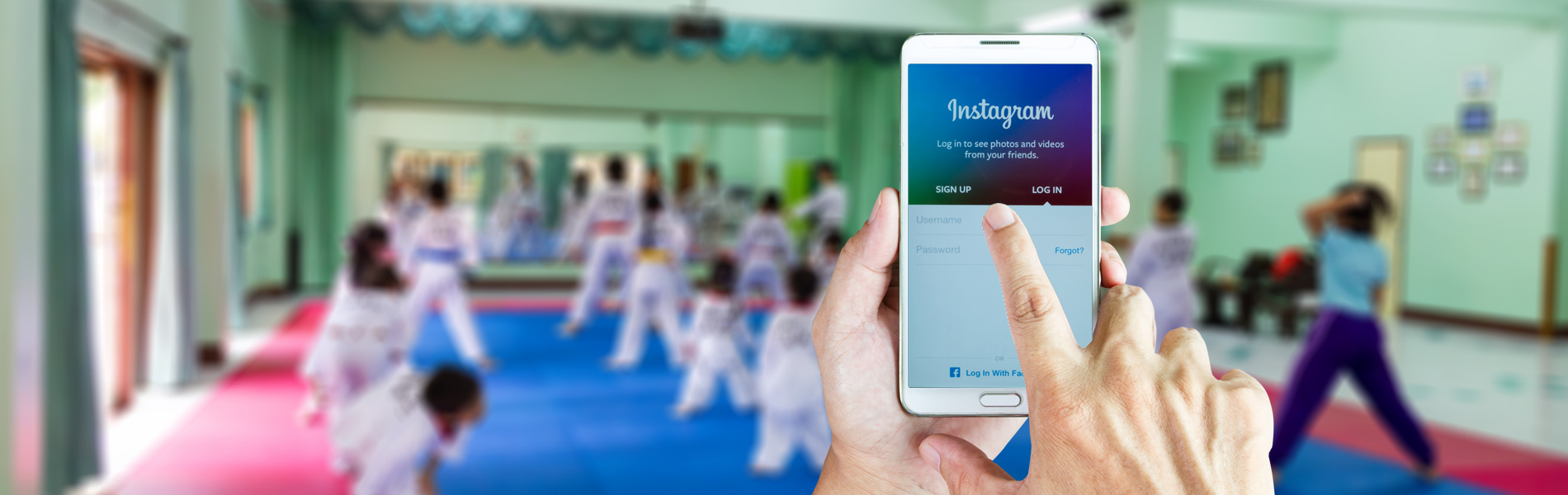 Using Instagram to Promote Your Martial Arts School