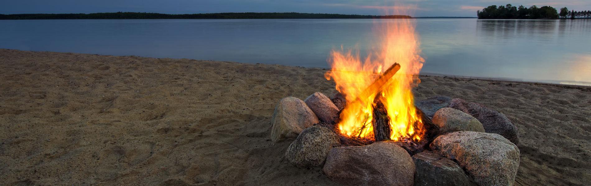 Summer Camp Fireplace