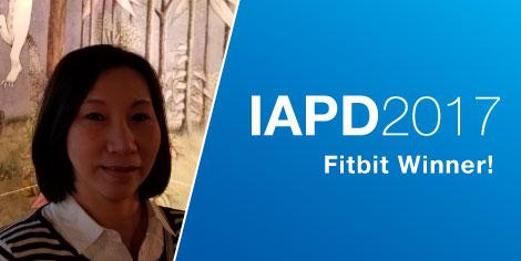 IAPD 2017 Draw Prize Winner