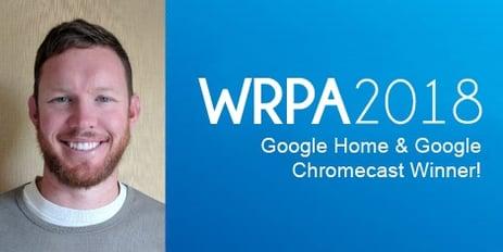 WRPA 2018 Draw Winner