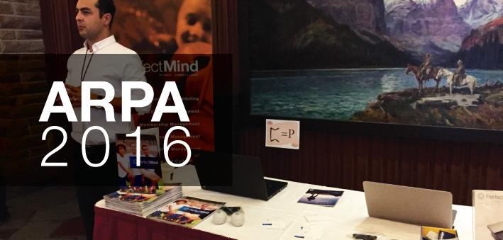 PerfectMind at ARPA 2016