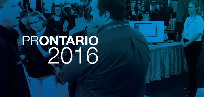 PerfectMind exhibiting at PROntario2016