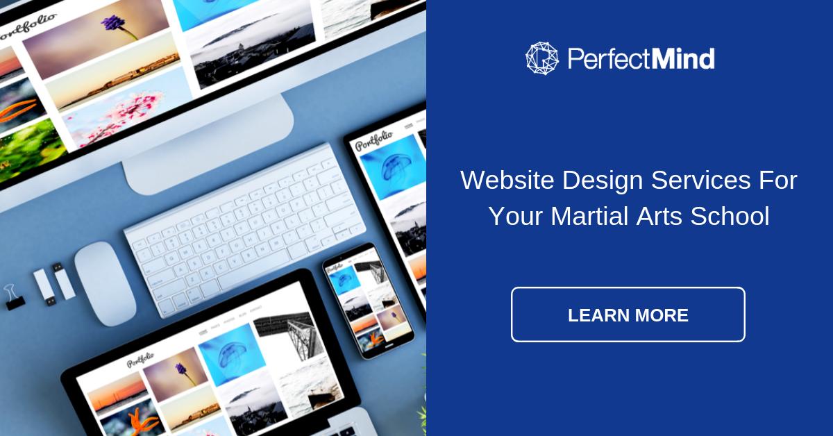 Website Design for Martial Arts School