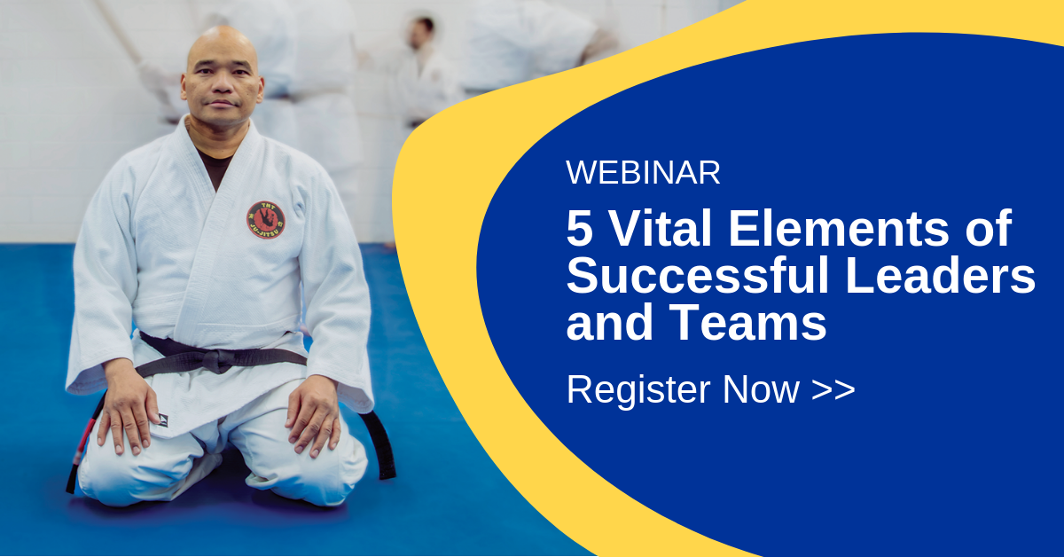 [Upcoming Webinar]  5 Vital Elements of Successful Leaders and Teams - with Dr. Tom Griggs
