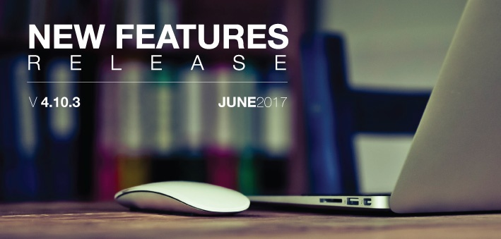 New Features Release June 2017