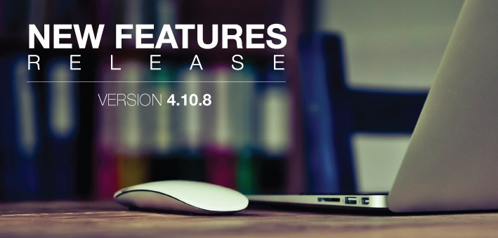 New Features Release Version 4.10.8